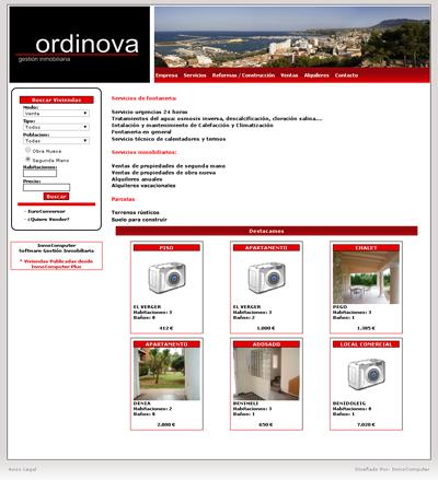 Inmocomputer caracter sticas software inmobiliaria for Paginas de inmuebles